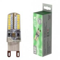 Лампа светодиодная ECON LED G9 3Вт 3000K 220V