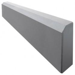 Бордюр тротуарный малый 500*210*35 серый /А/