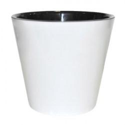 Горшок для цветов Фиджи D23см 5л белый