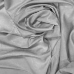 Портьера Велюр однотонный 1,5*2,5м, на тесьме серый
