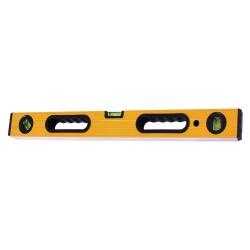 Уровень 100см алюминиевый 3 глазка, с ручками, T4P  2503210