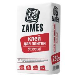 Клей плиточный Zames Базовый 25 кг