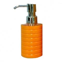 Дозатор жидкого мыла Trento оранж  пластик SWP-0680OR-A