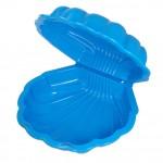 Песочница детская с крышкой синяя арт 042240100