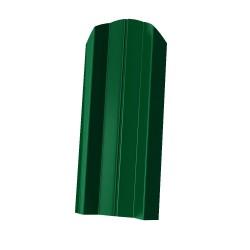 Штакетник М-образный 1800*76мм ПЭ RAL 6005 зеленый
