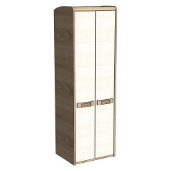 Шкаф для одежды Чемпион дуб бардолино/вудлайн кремовый (0,66*0,53*2,05)