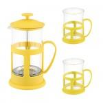 Френч-пресс 600мл + 2 чашки PFP01-600ML-SET 950083