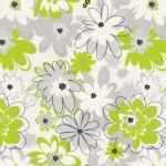 Обои 3336-47 Family винил на флизе 1,06*10,05м цветы, зеленый