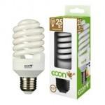 Лампа энергосберегающая ECON FSP 25 Вт E27 2700K А60