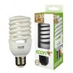 Лампа энергосберегающая ECON FSP 30 Вт E27 2700K A60
