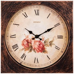 Часы настенные кварцевые ENGY модель ЕС-21 квадратные 9321