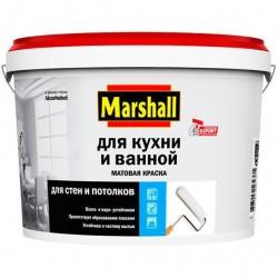 Краска Marshall для кухни и ванны в/э WO 2,5л 81-501-03