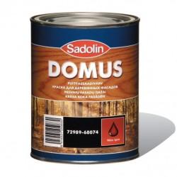 Краска масляно-алкидная для деревянных поверхностей DOMUS 10л