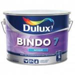 Краска для стен и потолков BINDO 7 BW матовая, белая 5л