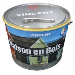 Краска-лазурь Мэзон ан буа, база А 0,9л ВД для защиты, декоративной отделки дер. изделий