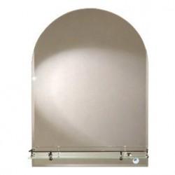 Зеркало Арка с полкой 390*590