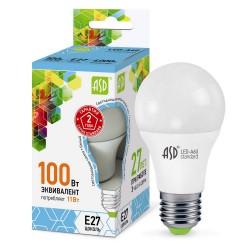 Лампа светодиодная ASD LED-A60-standard 11Вт 160-260В Е27 4000К 990Лм
