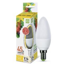 Лампа светодиодная ASD LED-СВЕЧА-standard 5Вт 160-260В Е14 3000К 450Лм