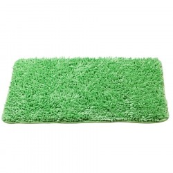 Коврик для ванной 45х70см зеленый, полиэстер Swensa