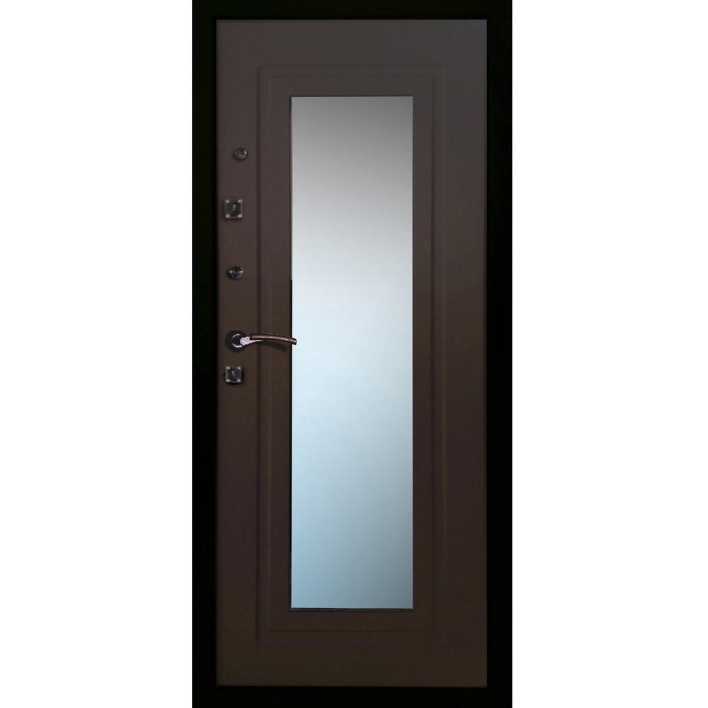 входная дверь с зеркалом купить железнодорожный