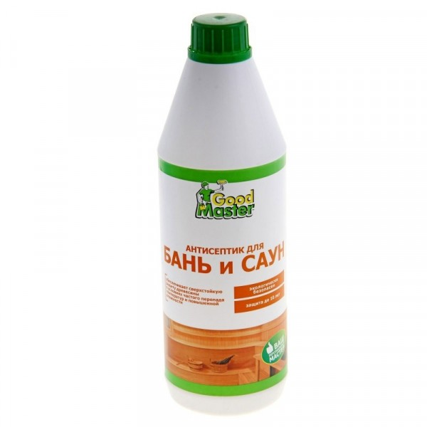 антисептик для бань и саун готовый 1л master good пленка пароизоляционная изоспан fb для саун и бань 1 2х29 16 м