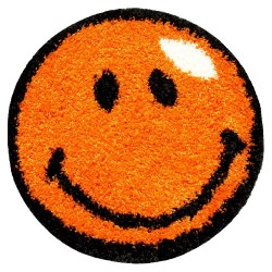 Ковер 0,67*0,67м FANTASY дизайн 12003-160 круг оранжевый