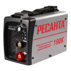 Инвертор сварочный Ресанта САИ 190К (190А, электрод 2-5мм, 5500Вт, 220В) 65/36