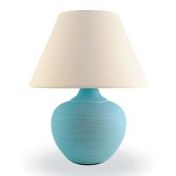 Лампа настольная ЛЮЧИЯ 552 Верона 60W E14 голубой