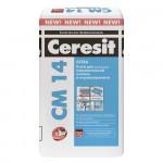 Клей плиточный Ceresit CM 14 для внешних и внутренних 25кг