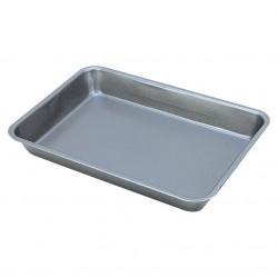 Противень для выпечки  30.5*21.5*3.8 см  карбон. сталь с антиприг. покр-м MAL-K001M
