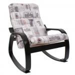Кресло-качалка Сайма, венге тк. Vinum 03