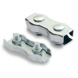 Зажим для троса Duplex 2 мм (2 шт)