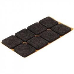 Пункт фетр. самокл. 25х35 тёмный (9 шт)