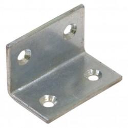 Уголок мебельный оцинк. 30х30х40х2,0 мм с шурупом (2 шт)