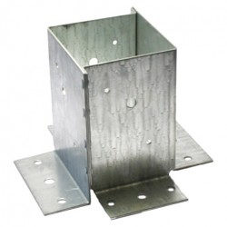 Опора столба оцинк. 70х70х150х2,0 мм