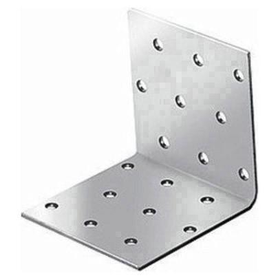 крепежный угол равносторонний-40х50х50 x 2,0 уголок плоский крепежный 40x40x10мм оцинкованный