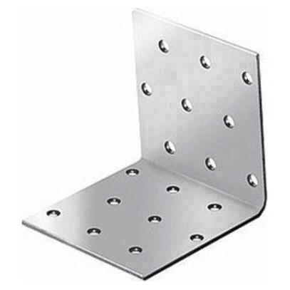 крепежный угол равносторонний-60х60х60 x 2,0 уголок плоский крепежный 40x40x10мм оцинкованный