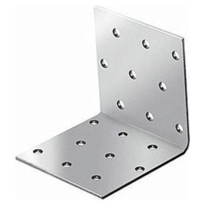 крепежный угол равносторонний-100х100х100 x 2,0 уголок плоский крепежный 40x40x10мм оцинкованный
