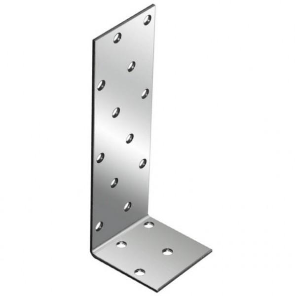 крепежный анкерный угол-40х80х40 x 2,0 уголок плоский крепежный 40x40x10мм оцинкованный