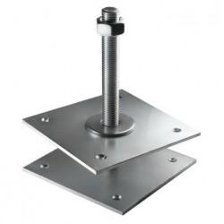 Лифт регулировочный 50*50*5,0 мм со шпилькой М16 Н=150 мм