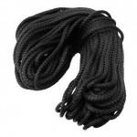 Шнур ПП текстильный 2,0мм черный (50м)