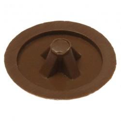 Заглушка №3 темно-коричневая (50 шт)