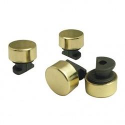 Зеркалодержатель d17 мм без сверления, золото (комплект)