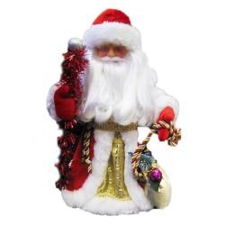 Дед Мороз, красный 41см