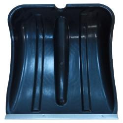Лопата пластмассовая АЛЯСКА с алюм. накладкой без черенка