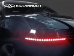 LED Ультраяркая лента EVO - 50cm (кнопка Try-me) - Красный/боковое свечение (2 шт)