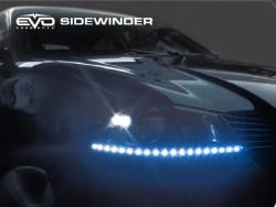 LED Ультраяркая лента EVO - 50cm (кнопка Try-me) - Синий/боковое свечение (2 шт)