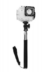 Крепление для action-камеры АС-5510 телескопический держатель-монопод 1м