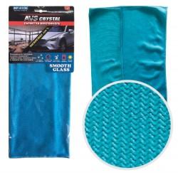 Салфетка микрофибра особого плетения для стекол и зеркал AVS MF-6106 (35х40см)(1шт)