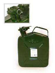 Канистра для бензина 5л. металлическая (со стопорным шплинтом на крышке)